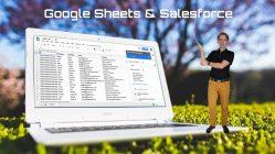 Arbeta med Salesforce data direkt i Google Sheets